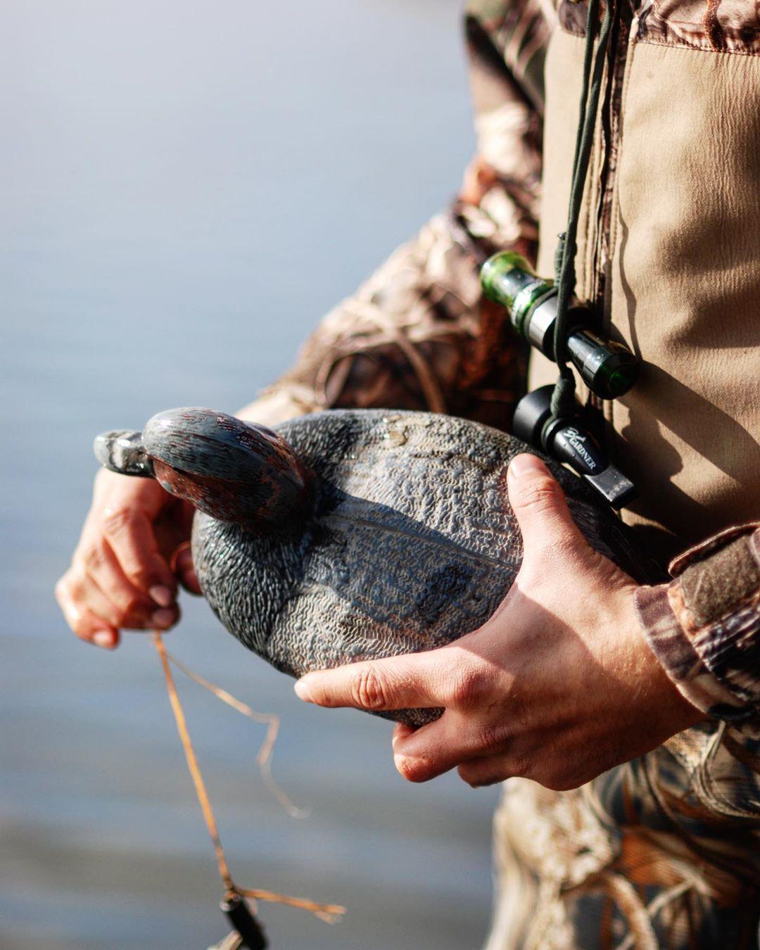 Duck Hunting on lake